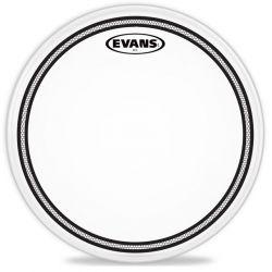 Evans 13 parche tom ec2 sst coated 2 capas blanco rug
