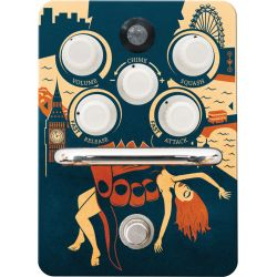 Orange pedal compresion kongpressor