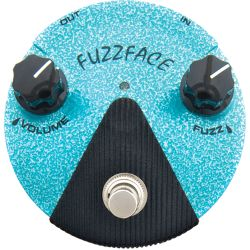 dunlop fx jimi hendrix fuzz face distorsion mini turquoise