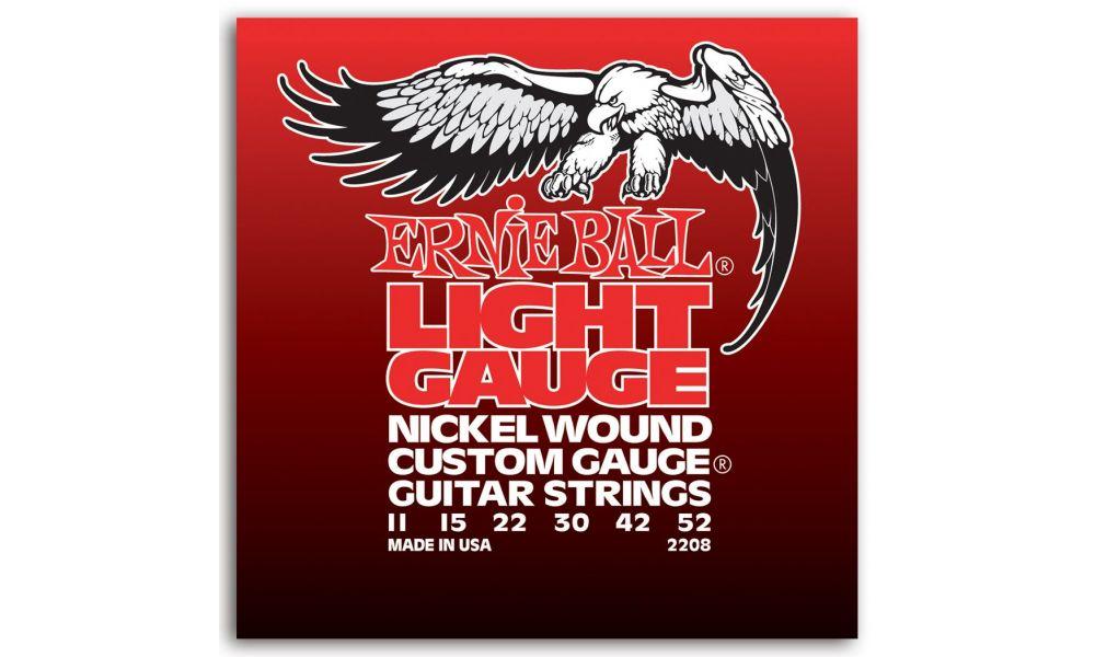 Compra ernie ball light gauge 11-52(juego de cuerdas) al mejor precio