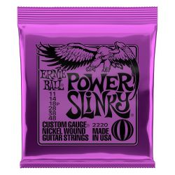 Ernie Ball EB2220 power slink violeta 11-48(juego de cuerdas)