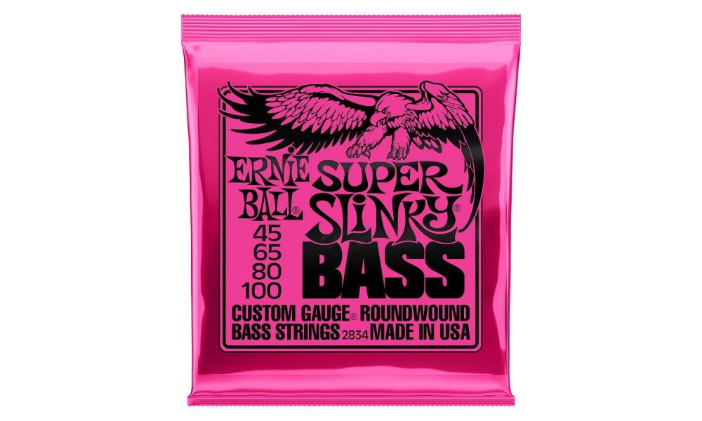 Compra ERNIE BALL EB2834 SUPER SLINKY 45-100 BAJO al mejor precio