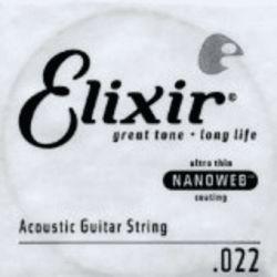 ELIXIR C.INDIVIDUAL ACÚSTICA NANOWEB 80/20 BRONZE ENTORCHADA - 022