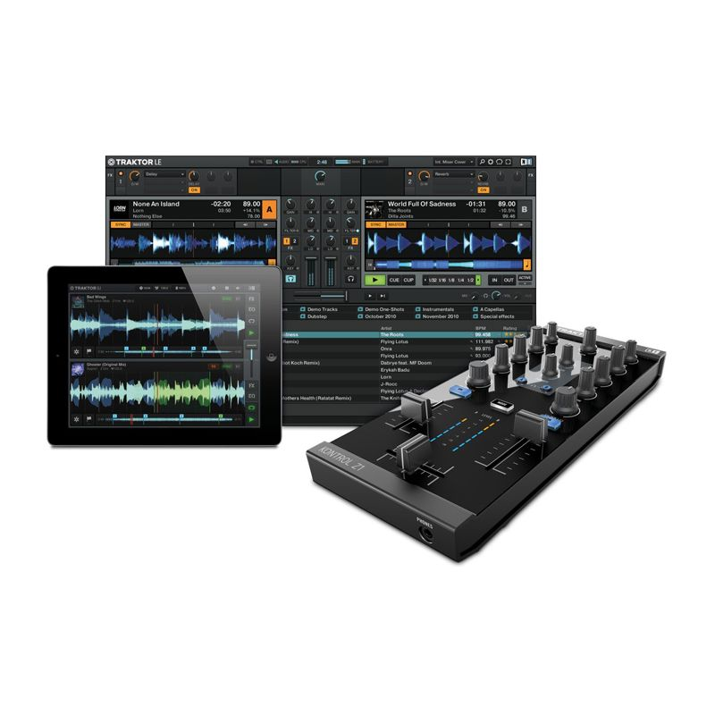 native instruments traktor kontrol z1 - NAT-017537