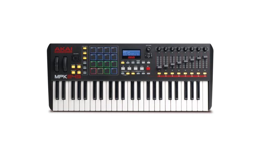 Compra Akai MPK249 teclado controlador midi USB al mejor precio