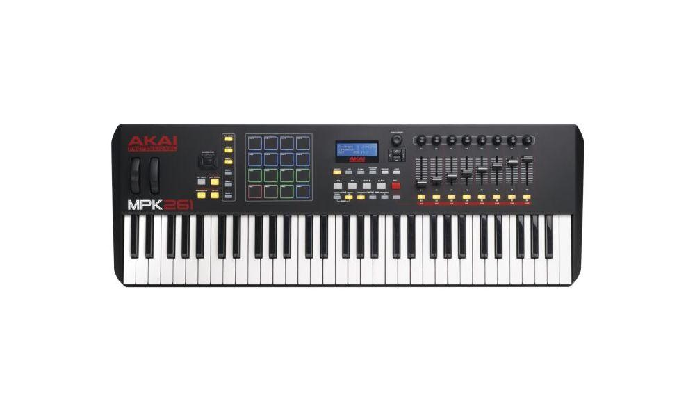 Compra Akai MPK261 teclado controlador midi USB al mejor precio