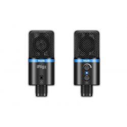 ik multimedia irig mic std bla microfono condensador