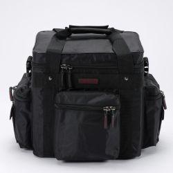 maleta para vinilos magma lp 100 profi black/red