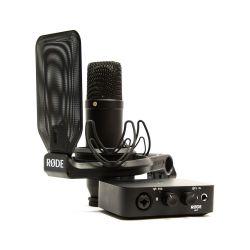Compra RODE NT1-AI1KIT KIT interface AI-1 + RODE NT-1 al mejor precio