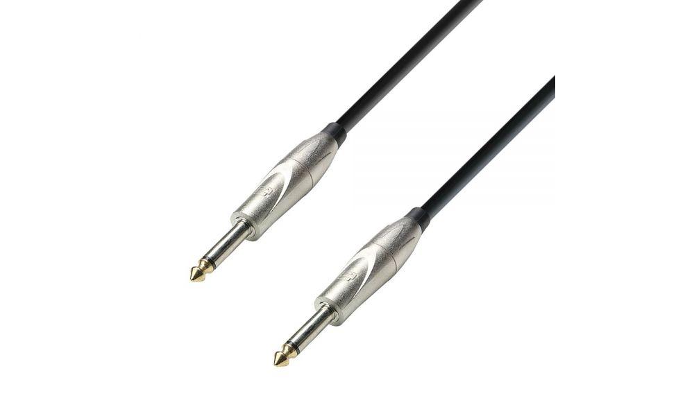 Compra Adam Hall 3 star 6 mts cable jack jack 6.3 mono al mejor precio