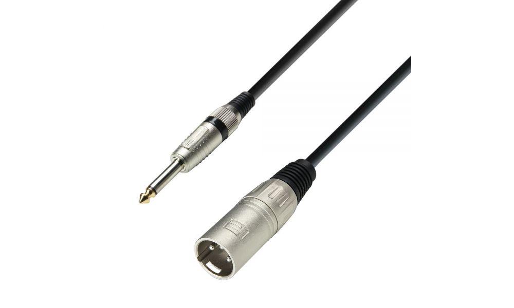 Compra Adam Hall cable xlr macho a jack 6.3 mono 3m 3 star al mejor precio