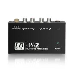 LD Systems PPA2 preamplificador y ecualizador