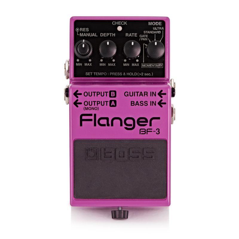 boss bf-3 pedal flanger