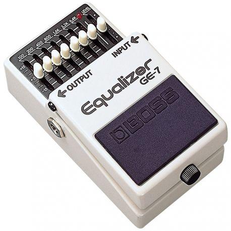 boss ge-7 pedal equalizador