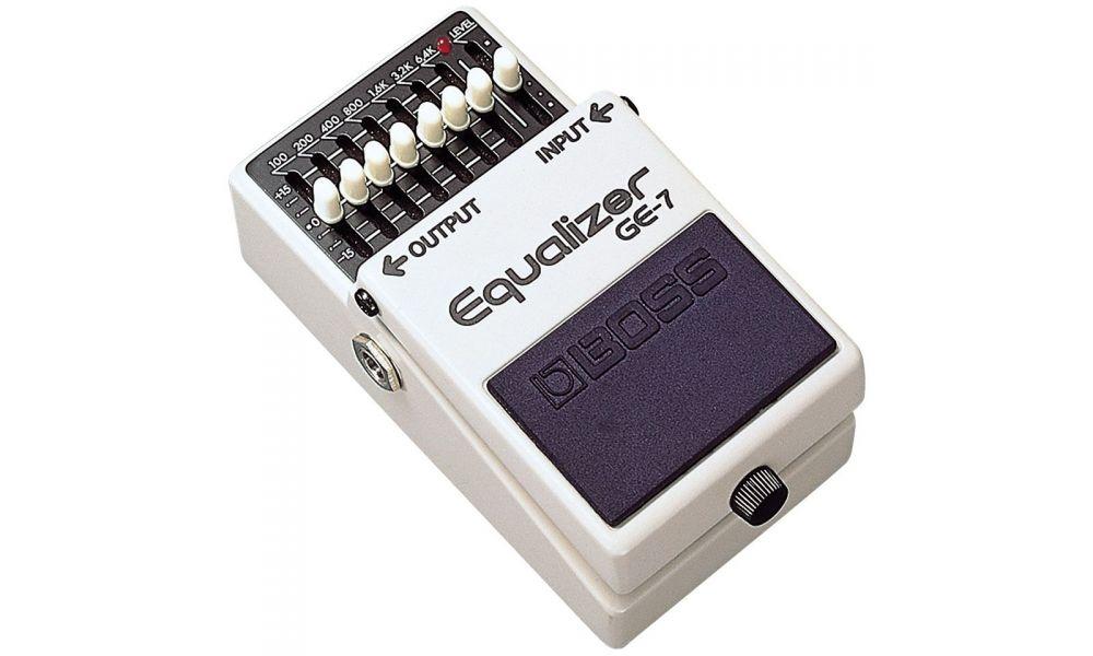 Compra Boss GE-7 pedal equalizador al mejor precio