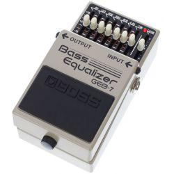 boss geb-7 pedal equalizador para bajo