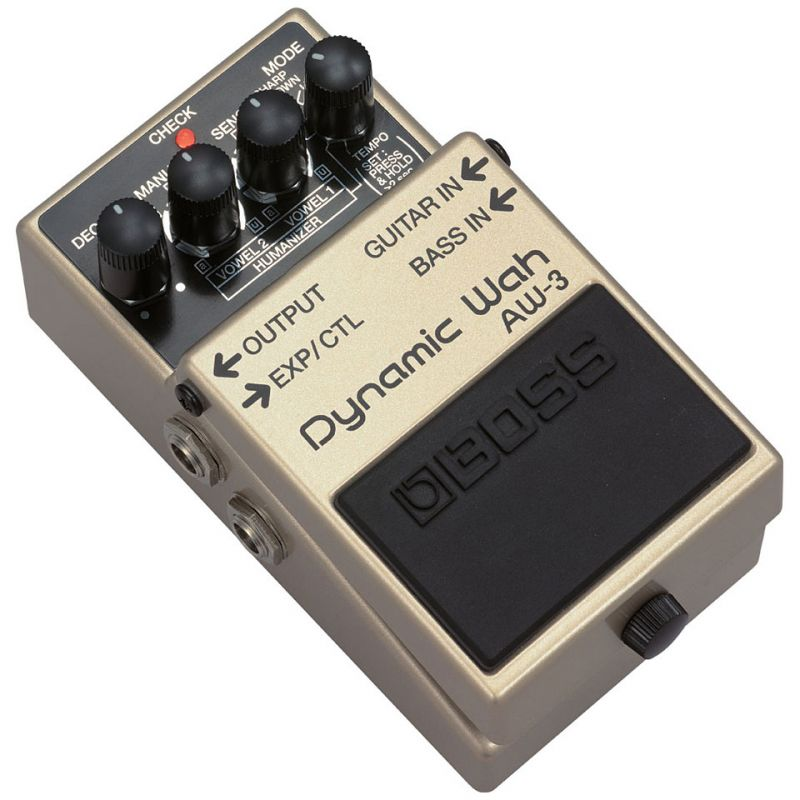 boss aw-3 pedal dynamic wah