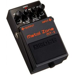 boss mt-2 pedal metal zone