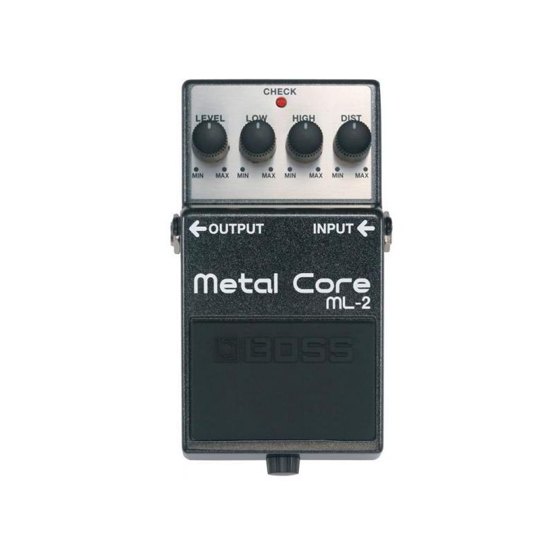 boss ml-2 pedal metal core