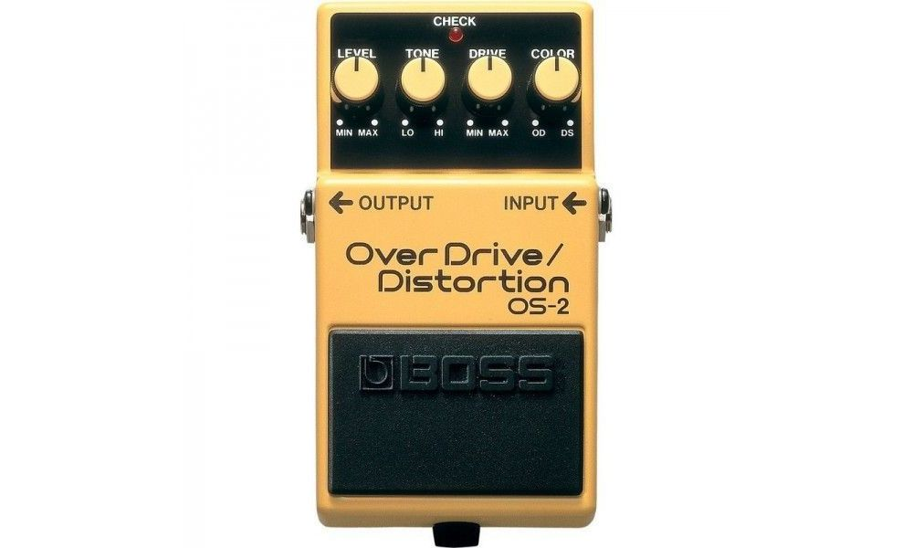 Compra Boss OS-2 pedal overdrive/distortion al mejor precio