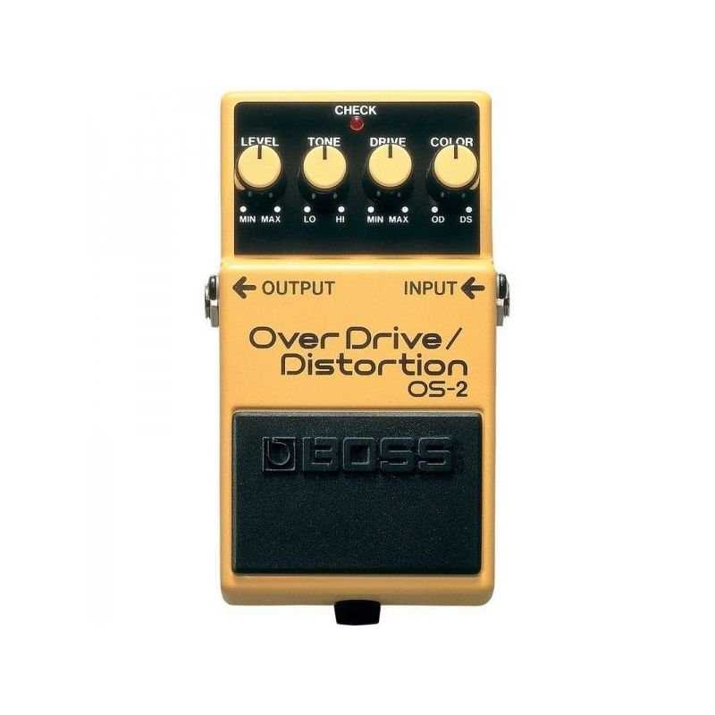 boss os-2 pedal overdrive/distortion