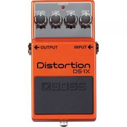 boss ds-1x distorsion pedal