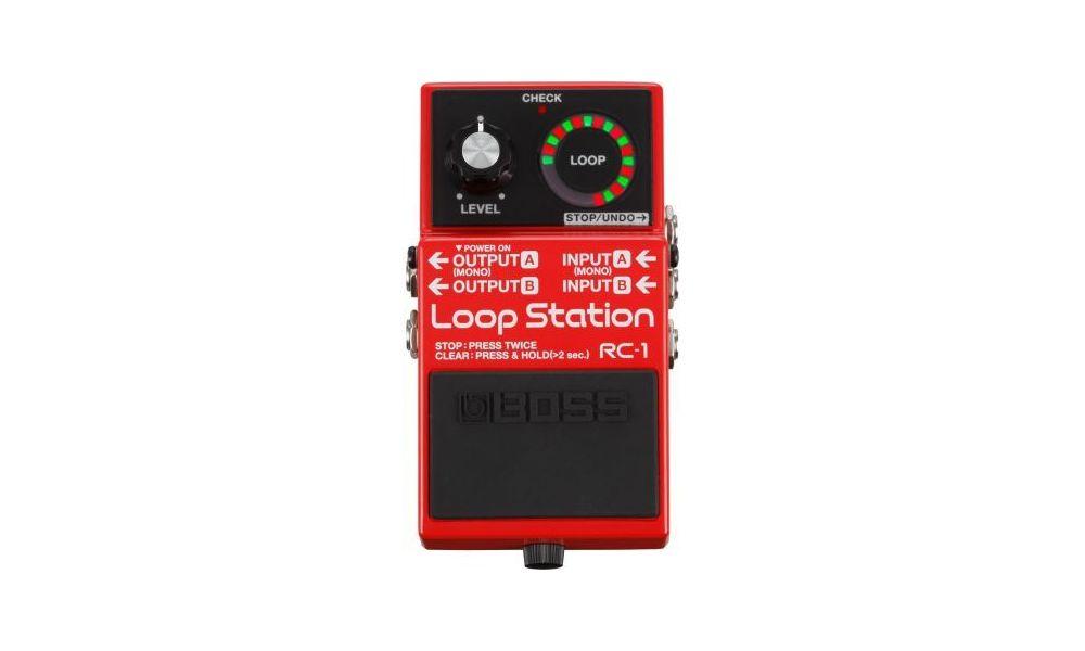 Compra Boss RC-1 loop station pedal al mejor precio