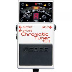 Boss TU-3 afinador guitarra cromatico pedal