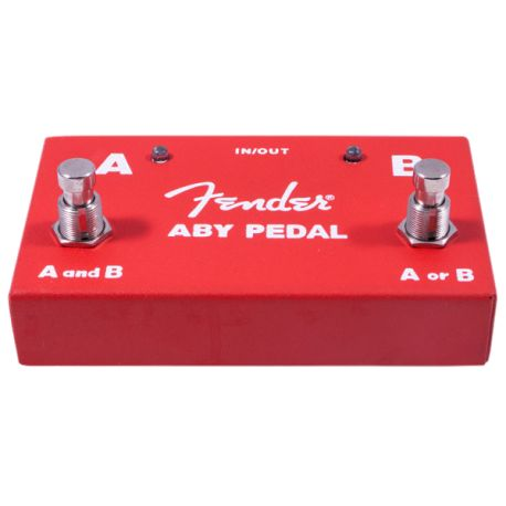 Fender 2-Switch ABY Pedal Red