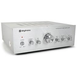 skytronic amplificador estereo de 2 x 50w