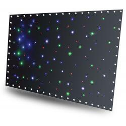 beamz cortina de estrellas led96 rgbw 3x 2m con controlador