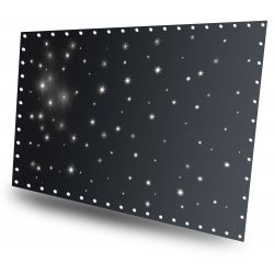Beamz cortina de estrellas led96 blanco frio 3x 2m con controlador