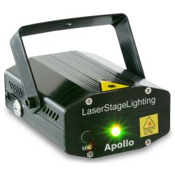 beamz apollo laser multipunto rojo verde