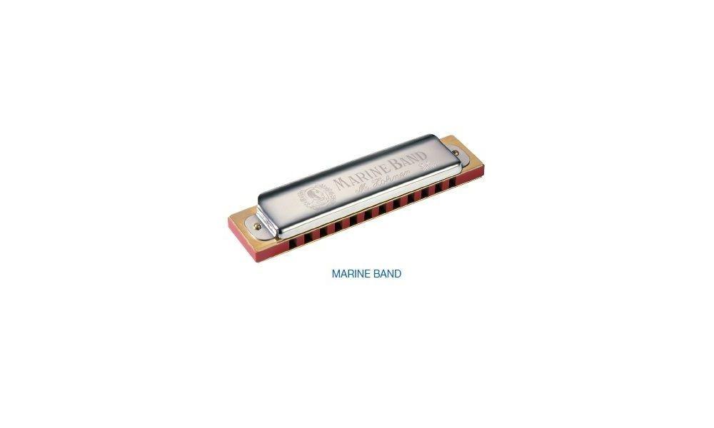 Compra hohner marine band 1896/20 armonica g (sol) al mejor precio