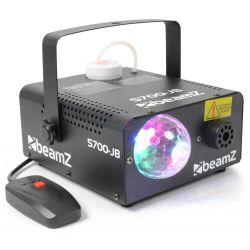 beamz s700-jb maquina de humo + bola led jelly