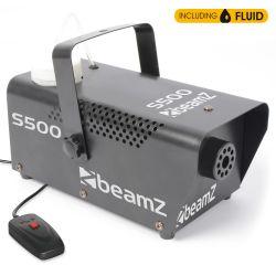 beamz s500 maquina de humo incluye liquido de humo