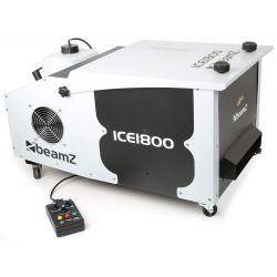 ice1800 maquina de humo bajo control dmx