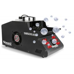 beamz sb1500led maquina de humo yburbujas con led rgb