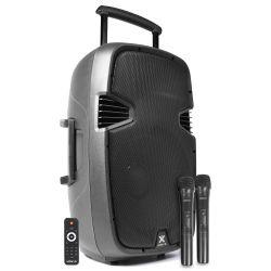 VONYX SPJ-PA915 Bafle movil activo ABS 15 2 micros UHF/USB/MP3