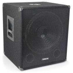 """vonyx smw15 caja de bajos 38cm (15"""" ) - 600w"""