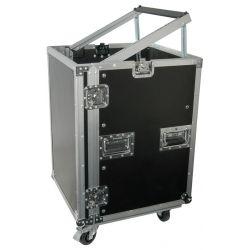 power dynamics pd-f16u8 caja rack 19' con ruedas 16u