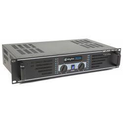 skytec sky-240b pa amplificador de sonido 2x 120w negro