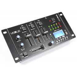 stm3030 mezclafdor 4 canales usb/mp3/bt/rec