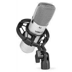 Compra vonyx cm400 microfono de estudio de condensador al mejor precio