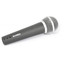 vonyx microfono, dinamico, 600 ohms, dm597