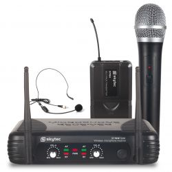 skytec stwm722c micro uhf 2 canales combi div.