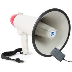 Vonyx meg040 megafono 40w grabacion sirena microfono