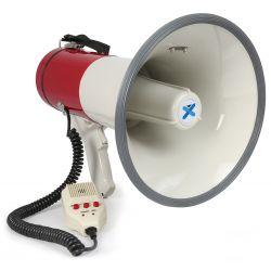 vonyx meg050 megafono 50w grabacion sirena microfono