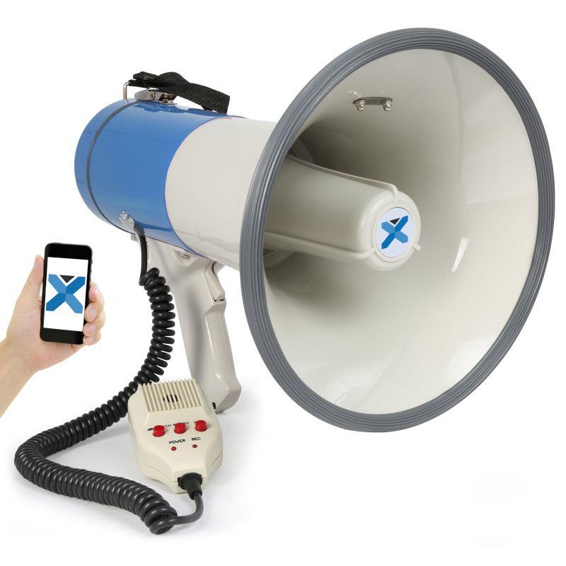 Compra vonyx meg055 megafono 55w record bt microfono al mejor precio