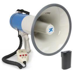 Vonyx meg065 megafono 65w usb sd bateria grabacion sirena microfono